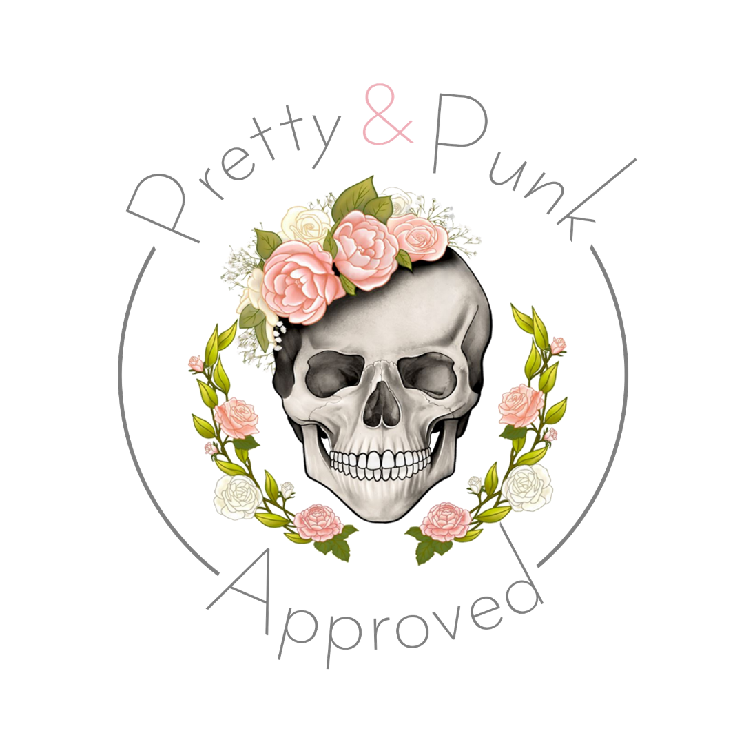 Pretty & Punk Badge
