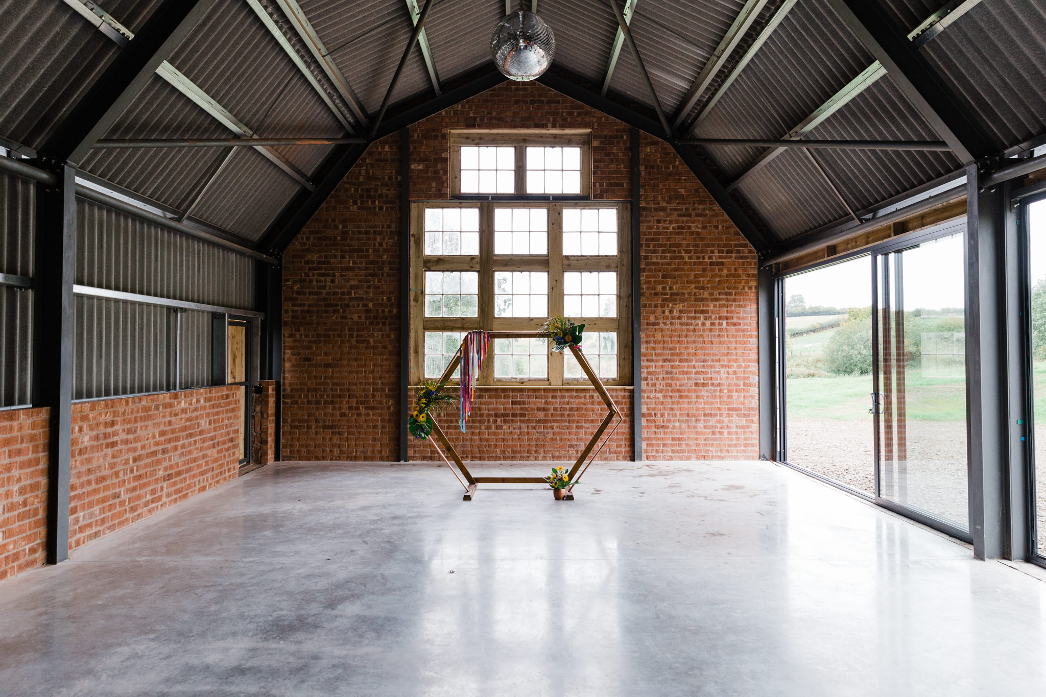 Giraffe Shed Wedding Venue an awesome blank canvas to make your own